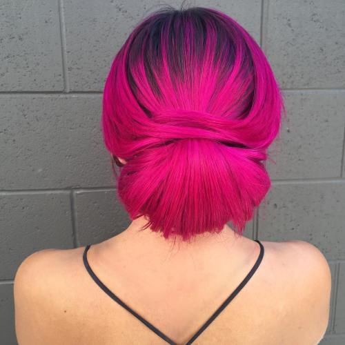 Best Hairstyles For Magenta Hair Color 2019 Haircuts