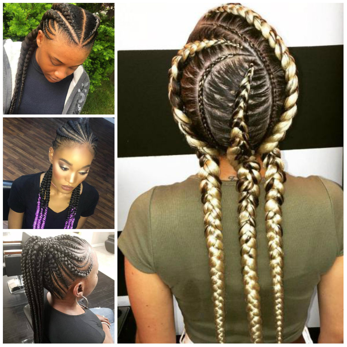 Chic Ghana Braids for 2017