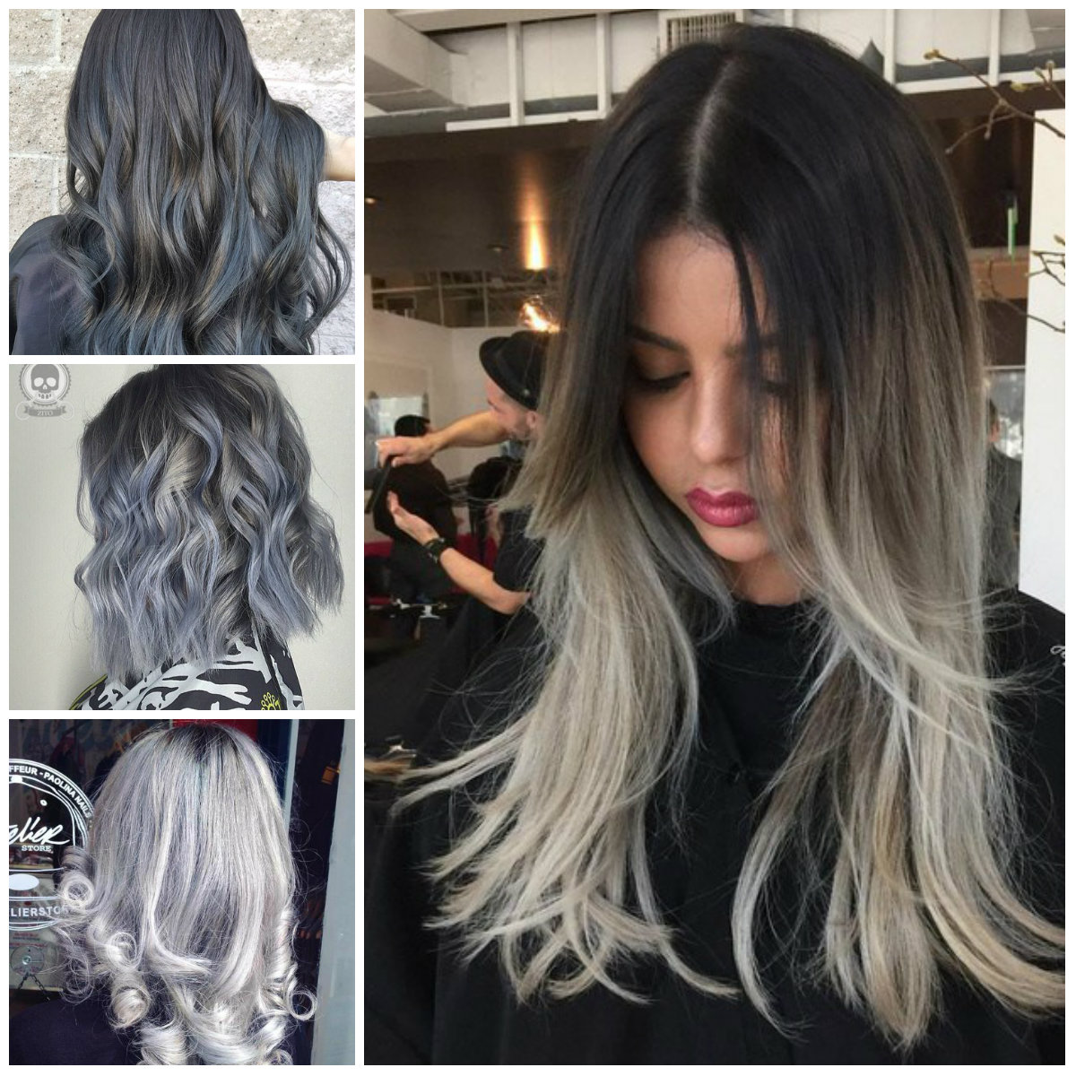 Incredible Shades Of Grey Hair Trend For 2017 2021 Haircuts Hairstyles And Hair Colors