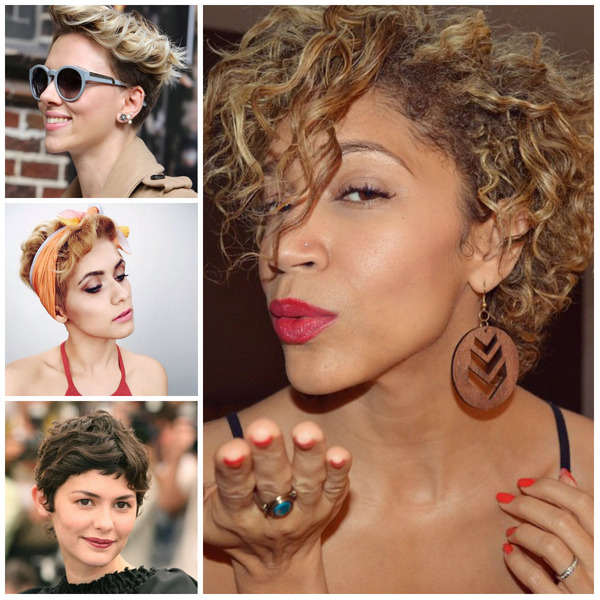 Curly Pixie Haircuts for 2017
