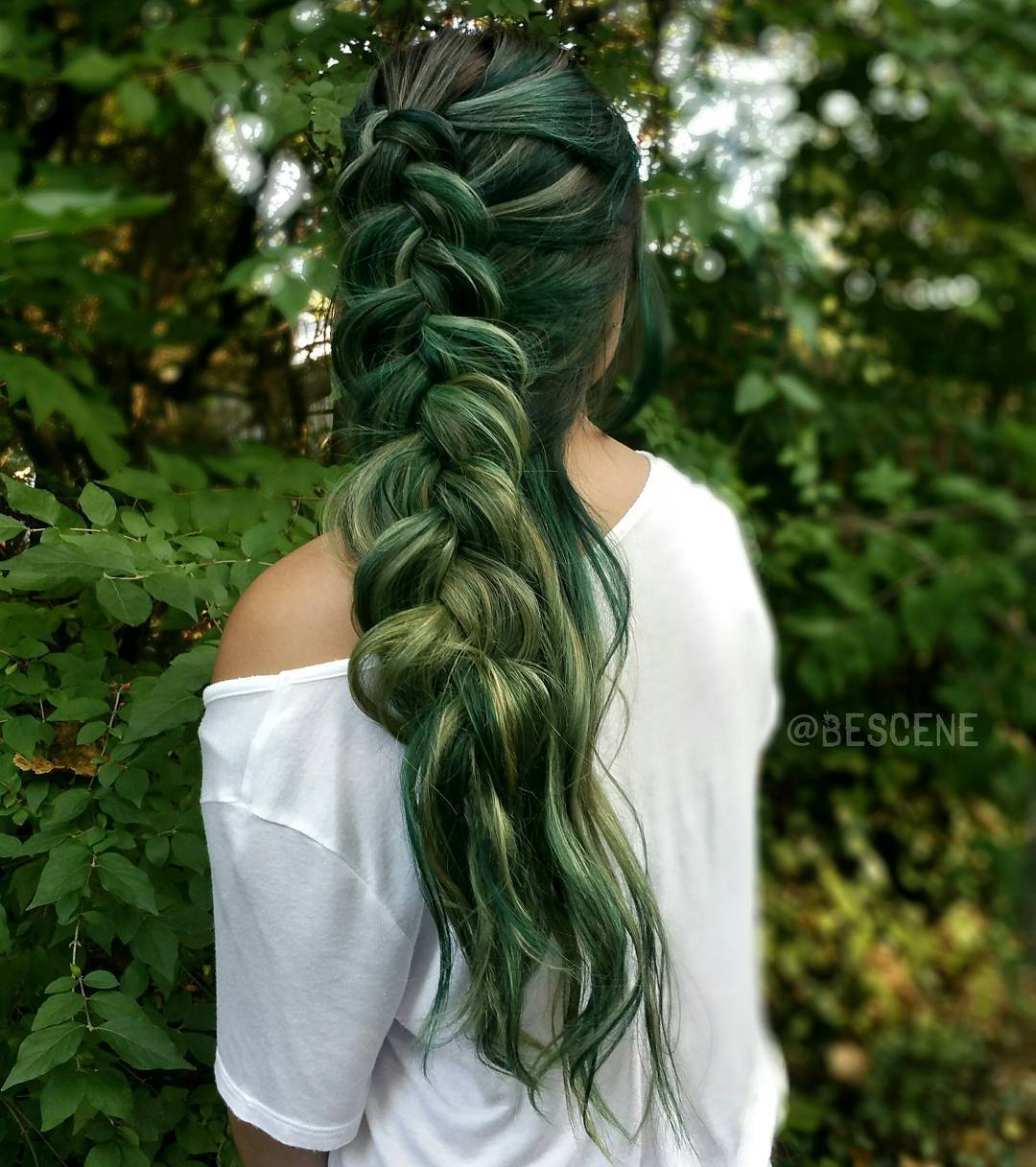 Green Hair Color Ideas For 2017 2019 Haircuts