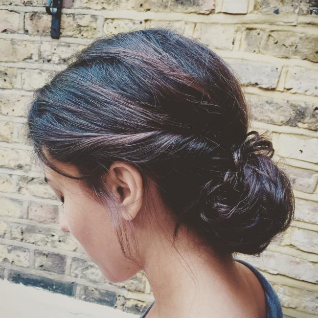 Boho Inspired Messy Bun