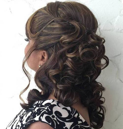 Are mature long hair styles updos draw?