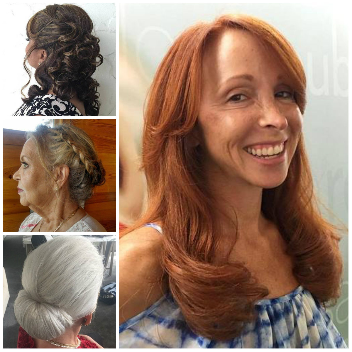 Incredible Long Hairstyle for Older Women for 2017
