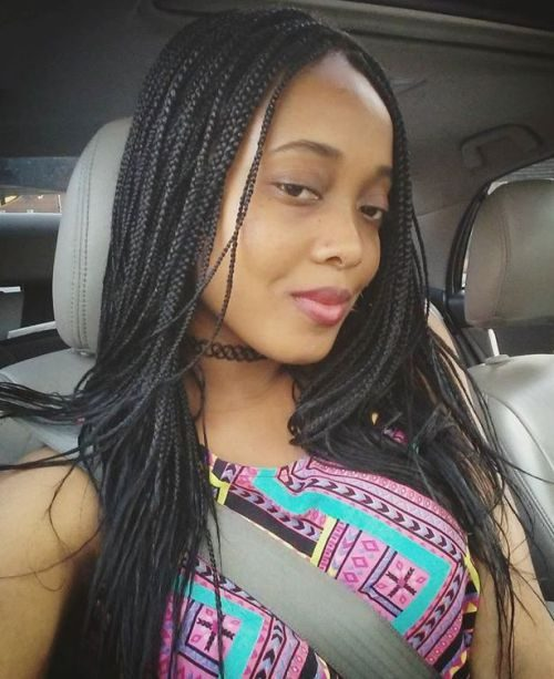 Long Beautiful Micro Braids