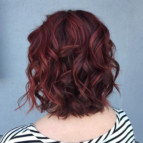 Short Maroon Waves