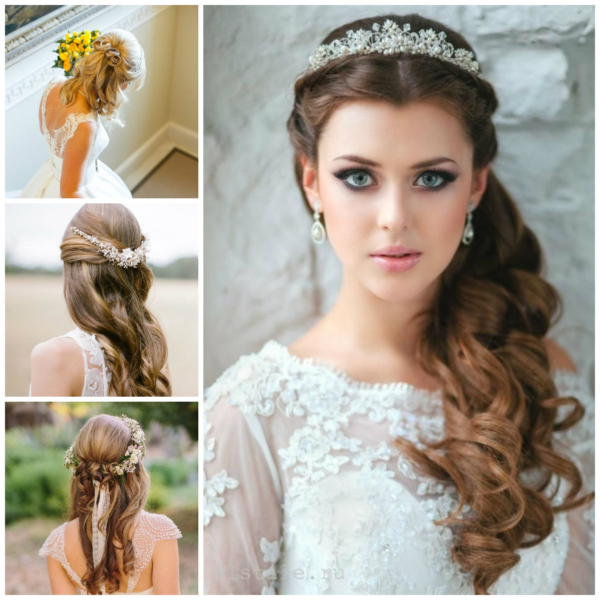 Wedding Hairstyle Trends 2019: Half Up Half Down Hairstyle