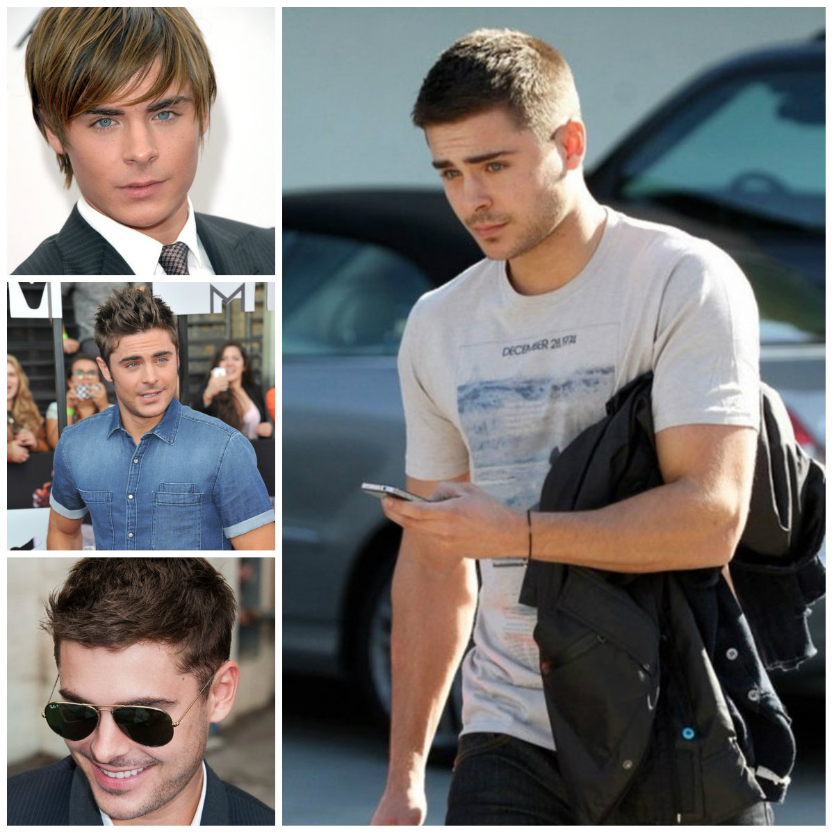 Zac Efron Hairstyle Ideas