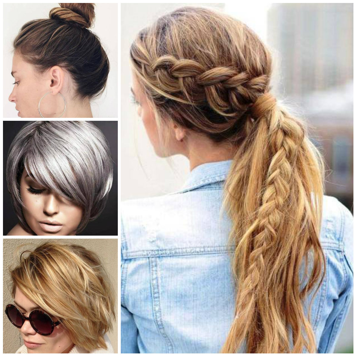 Chic Hairstyles for Straight Hair for 2017
