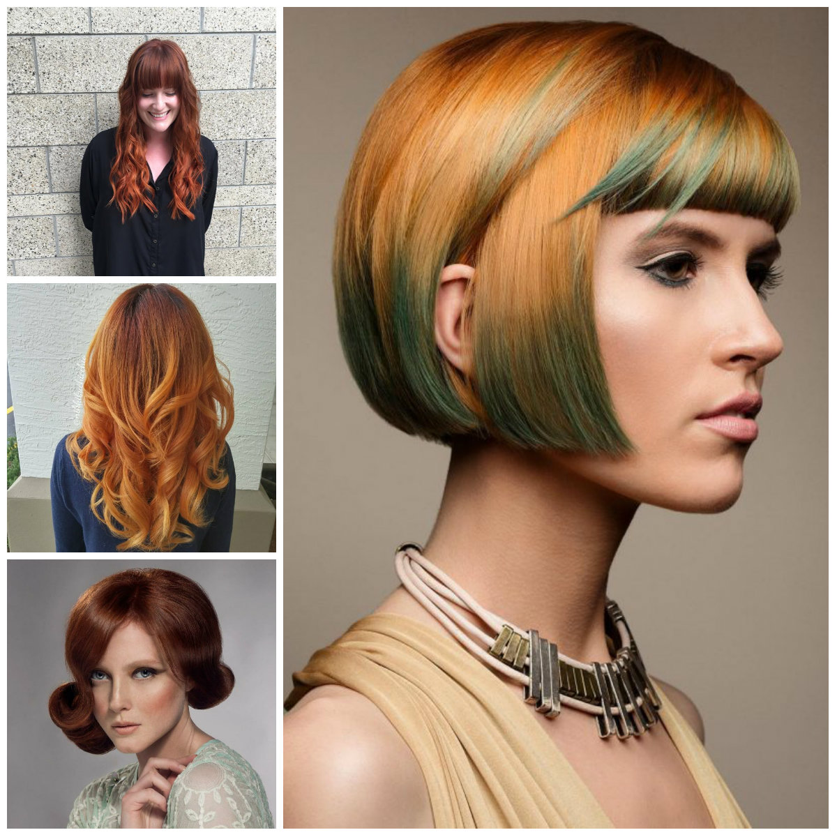 Copper Hair Color Ideas For 2017  2017 Haircuts Hairstyles And Hair Colors