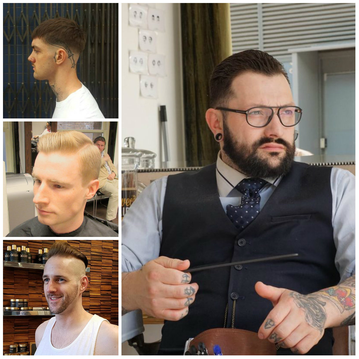 Cool Nazi Haircuts for Men