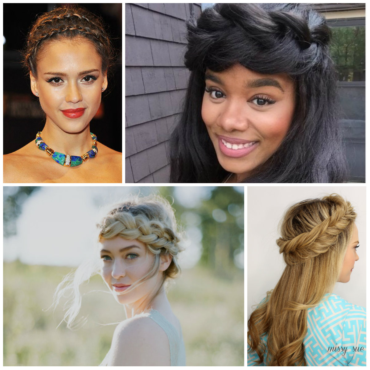 Angelic Halo Braids for Women for 2017