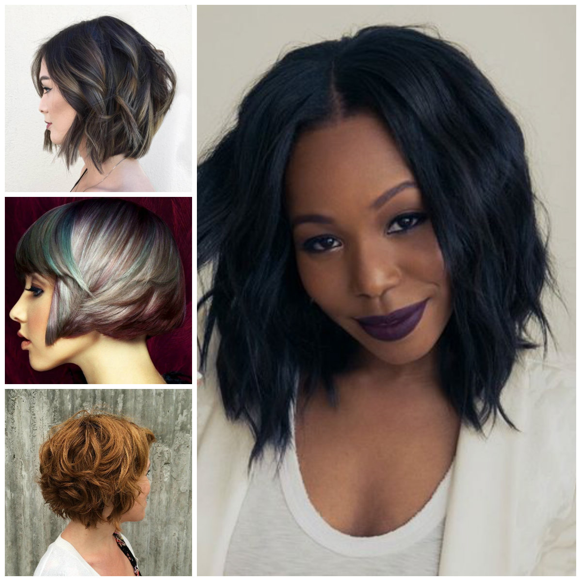 Layered Bob Haircut For Women 2017