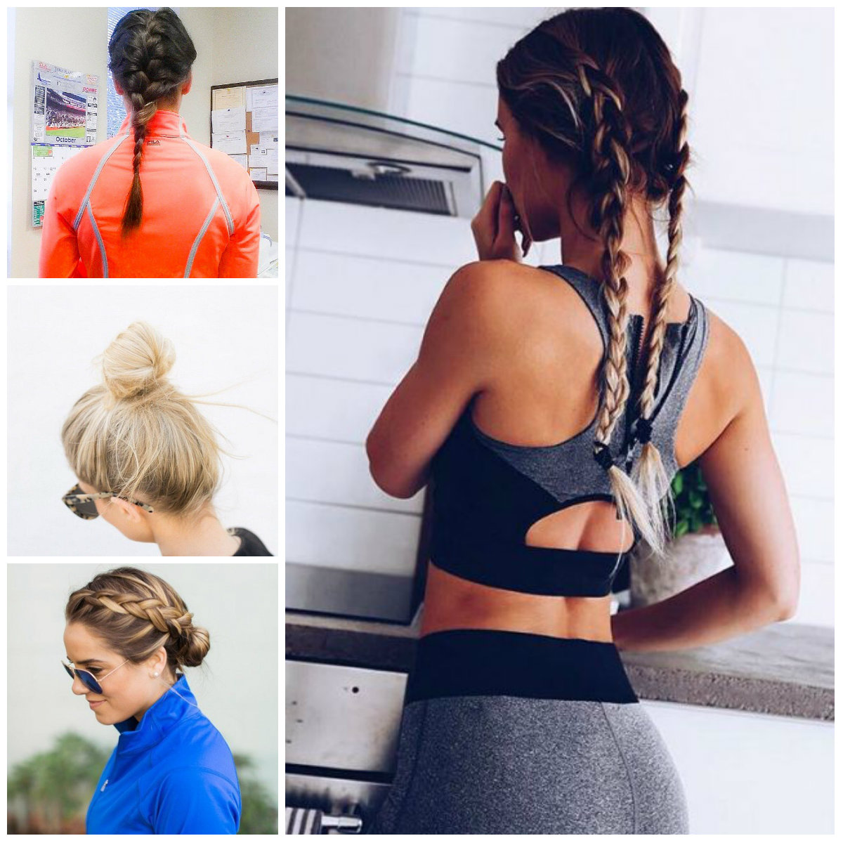Workout Hairstyle Ideas for 2017
