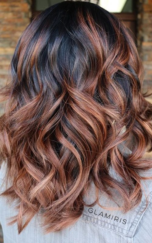 Cinnamon Brown and Chocolate Hair