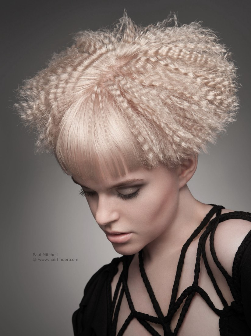 hair crimped short hairstyles haircuts super hairstyle crimping easy straight bangs different colors try way between woman ways