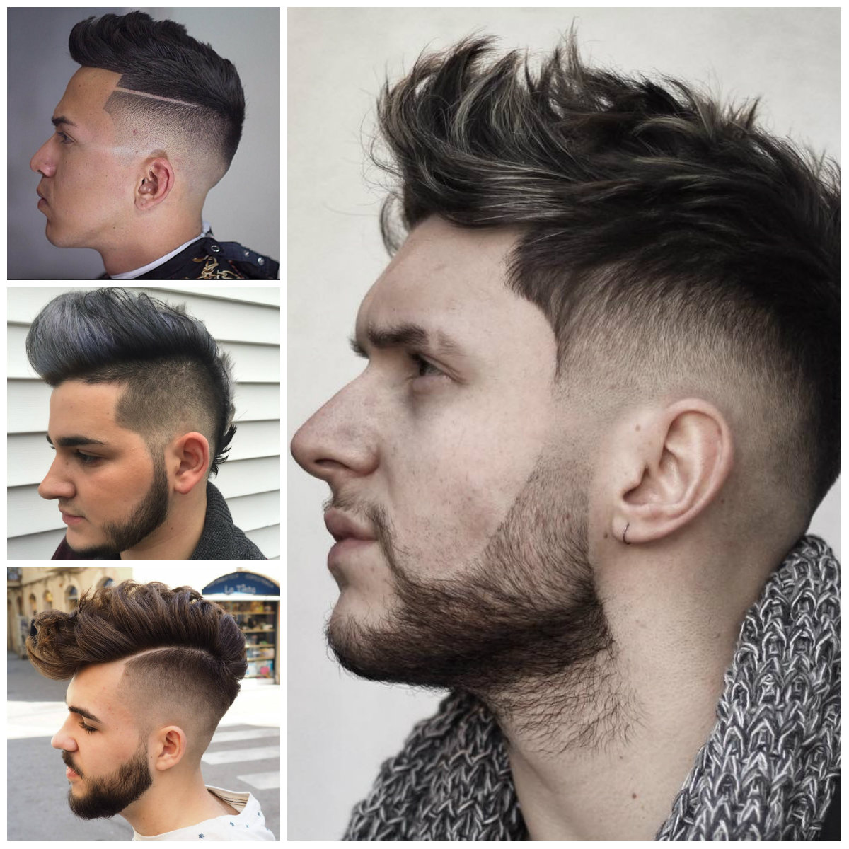 Men's Faux Hawk Hairstyles for 2017