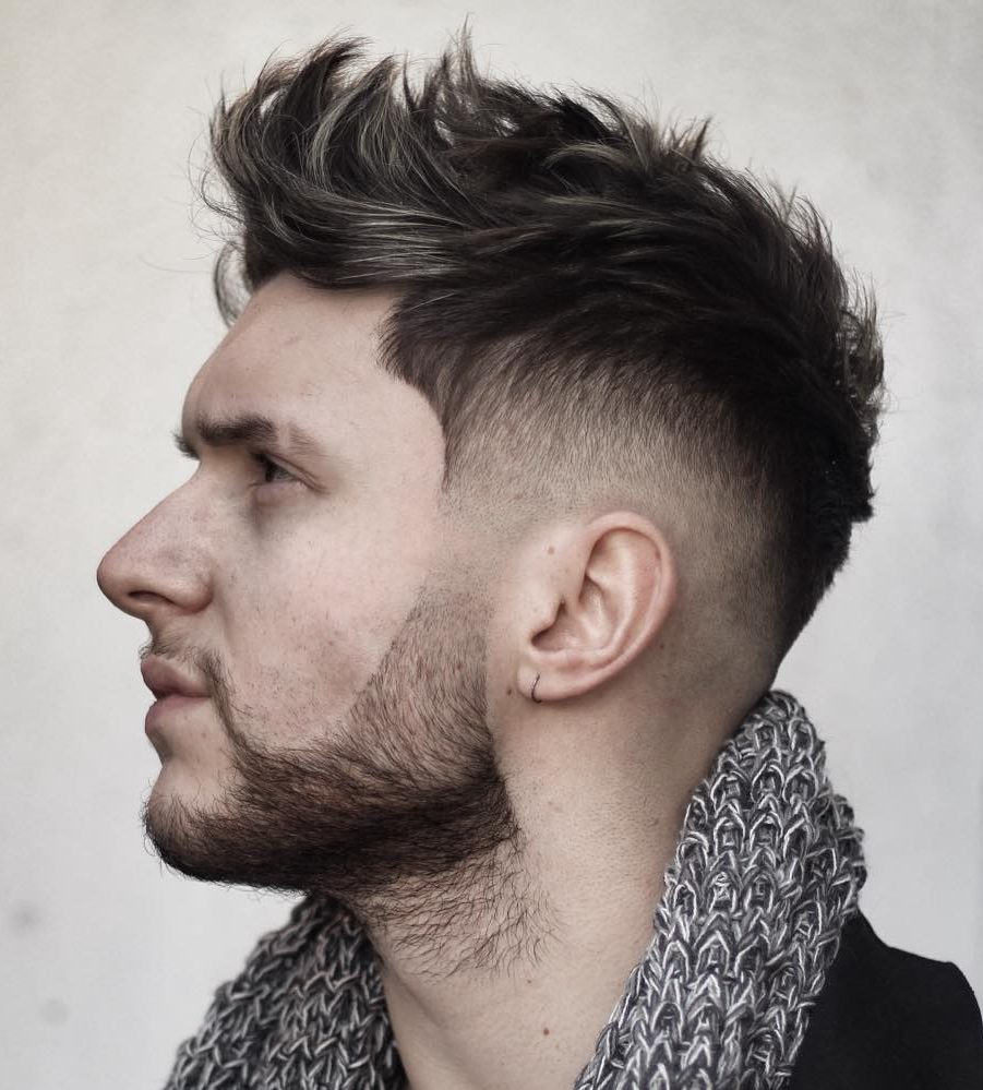 Men's Faux Hawk Hairstyles for 2017 | 2019 Haircuts ...