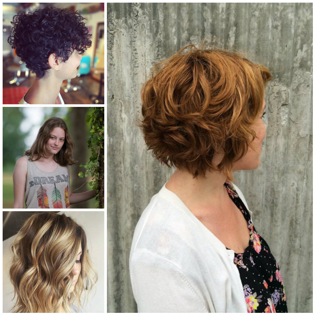 Stylish Short Wavy Hairstyle For 2017 2019 Haircuts