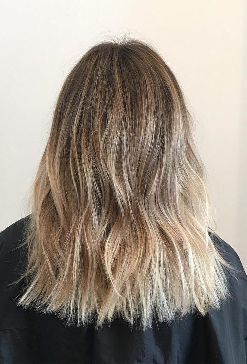Textured Blonde Hair