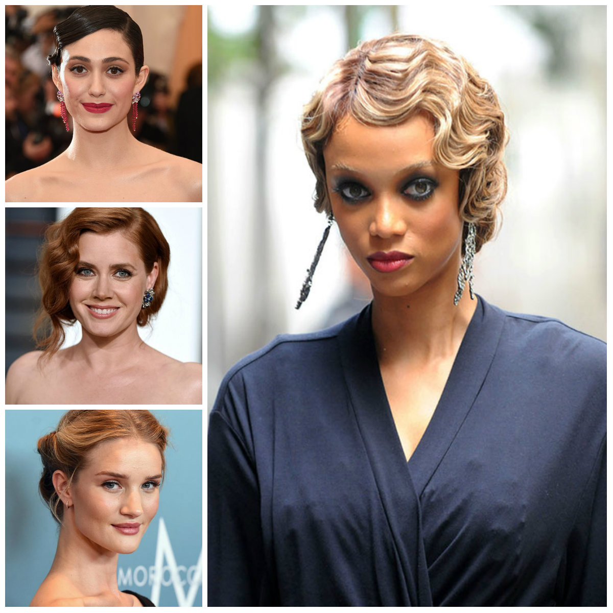 Retro Updo Hairstyles for Formal Occasions