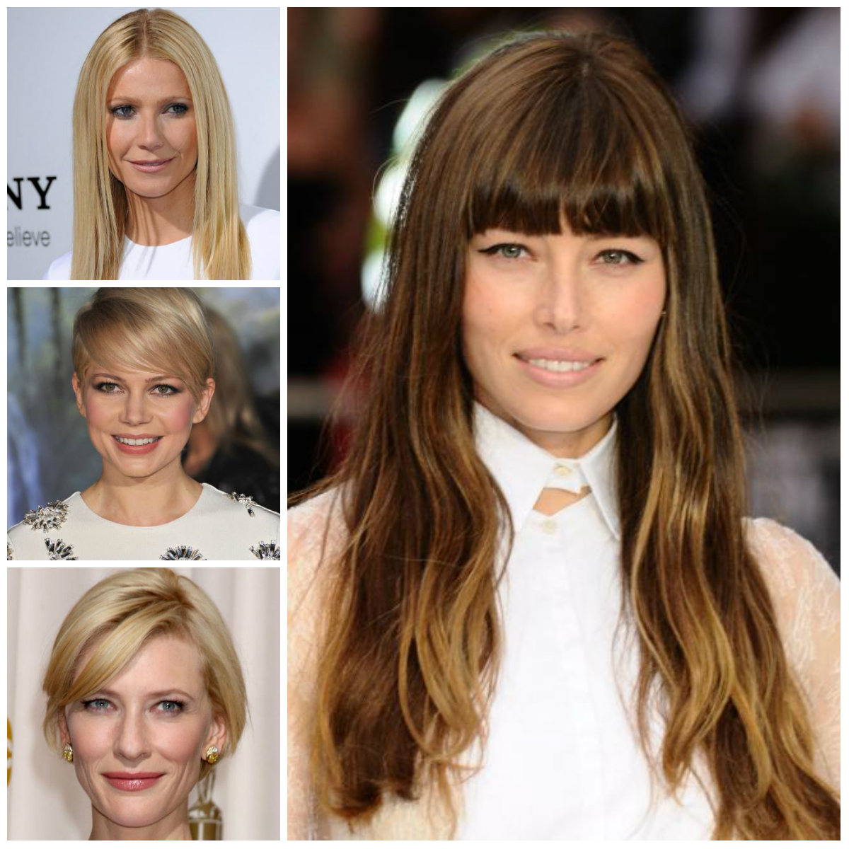 Chic Hairstyles By Celebrities For 2017