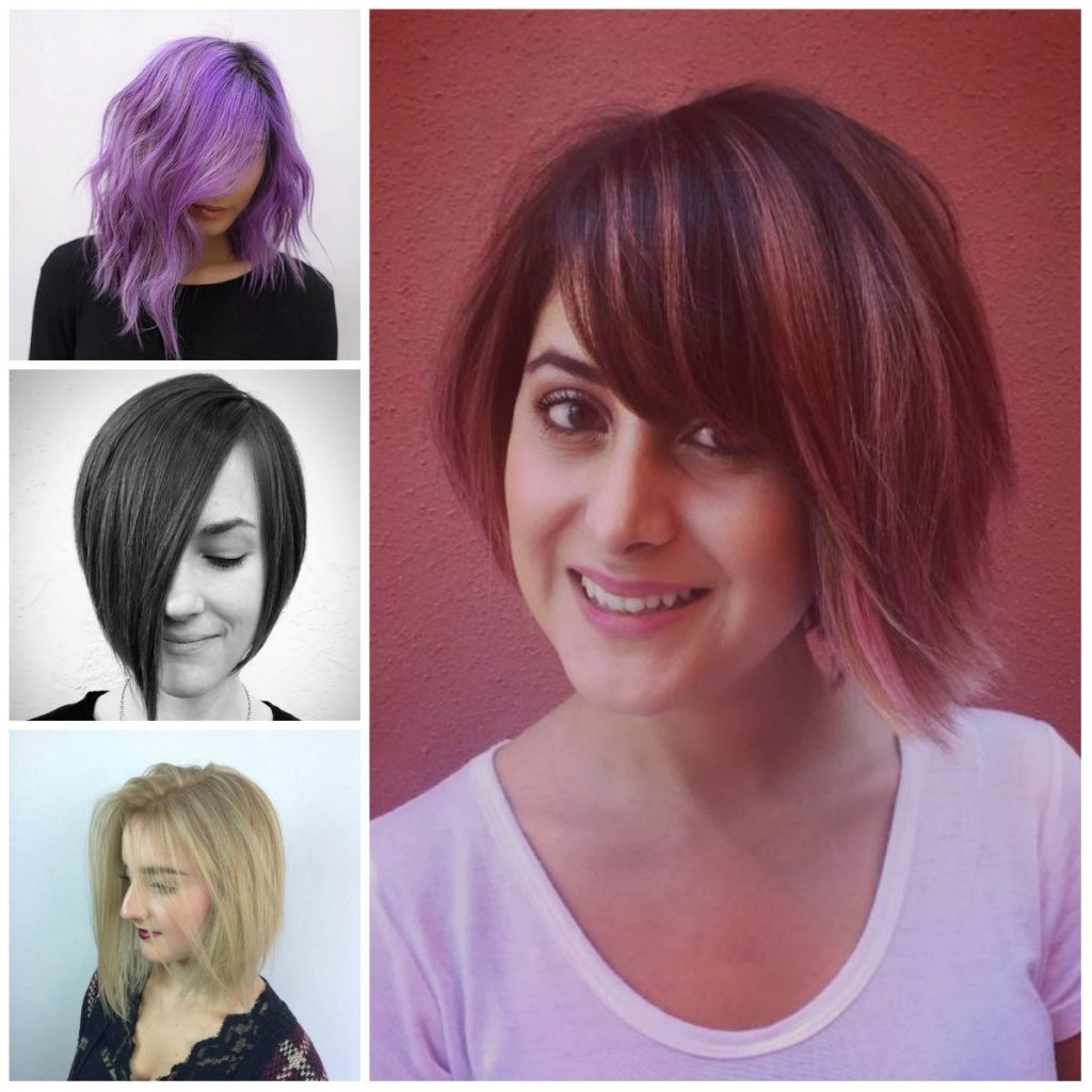 Asymmetrical Bob Hairstyles for 2017