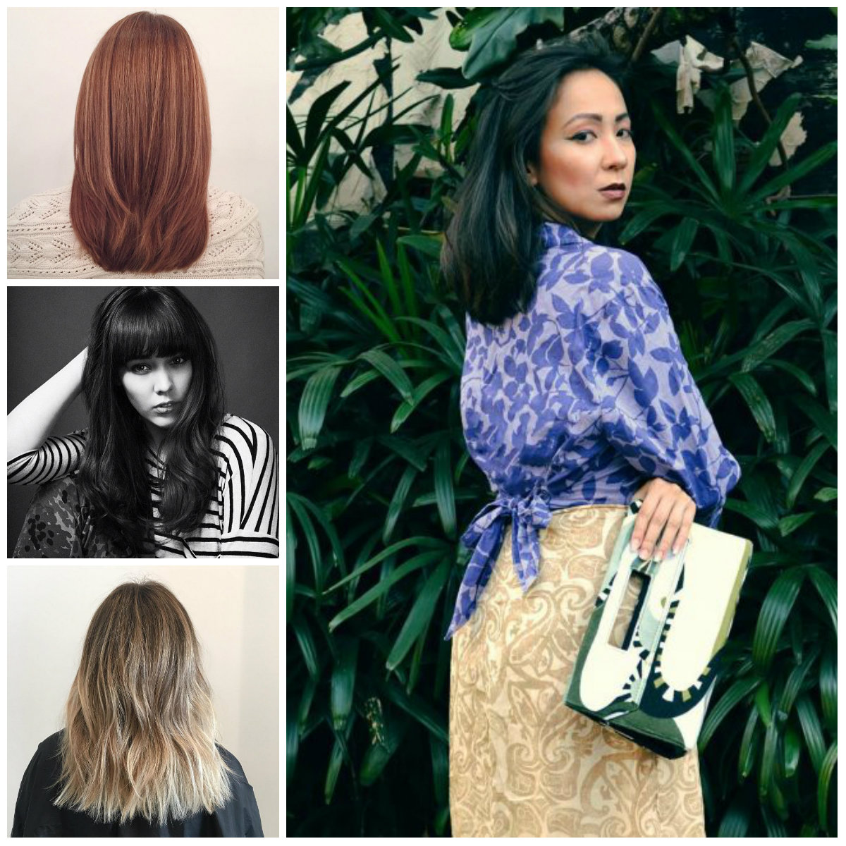 Flattering Mid-Length Haircuts