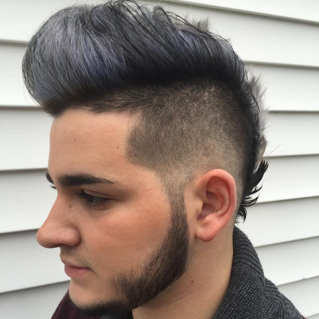 Men S Faux Hawk Hairstyles For 2017 2019 Haircuts