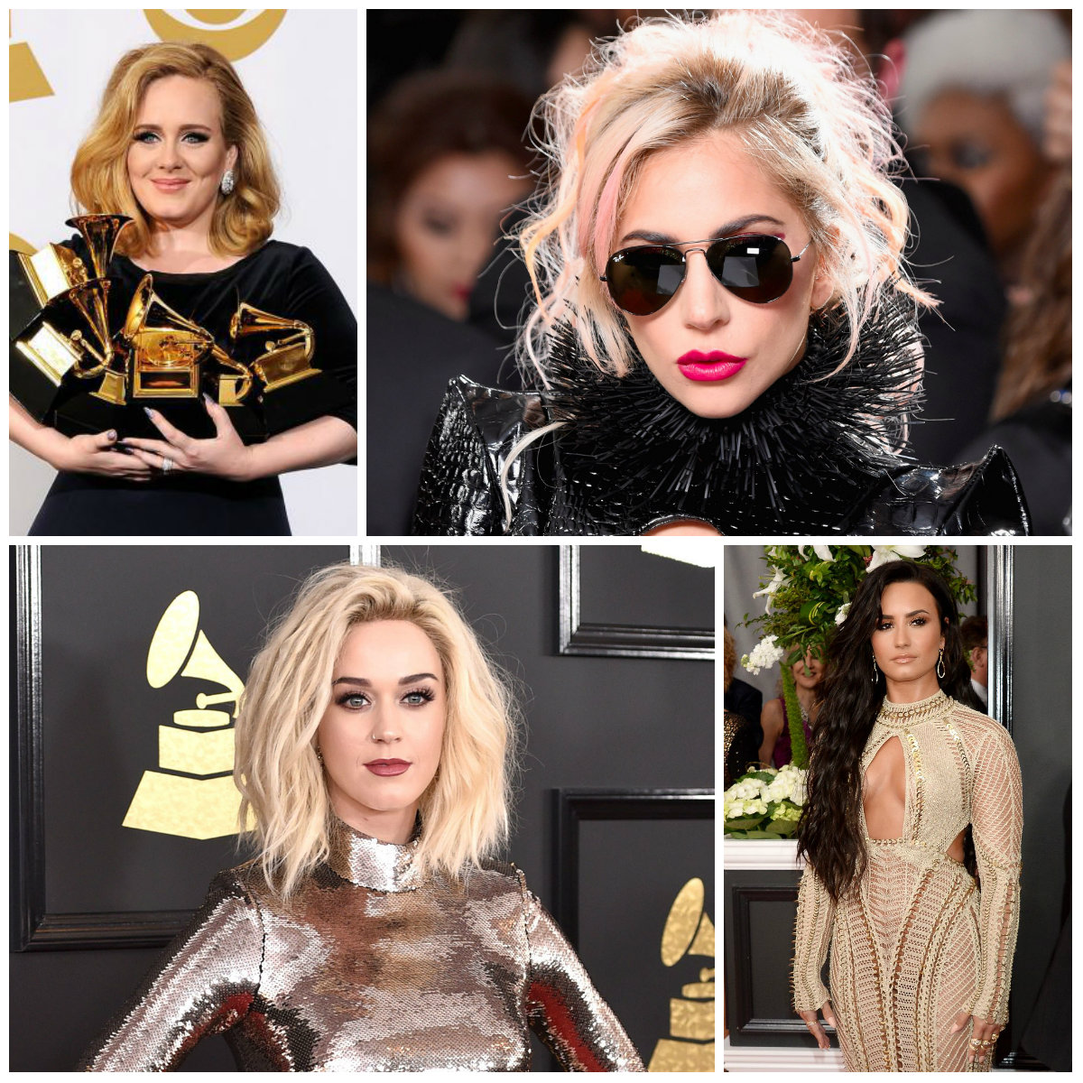 2017 Best Hairstyles from Grammy