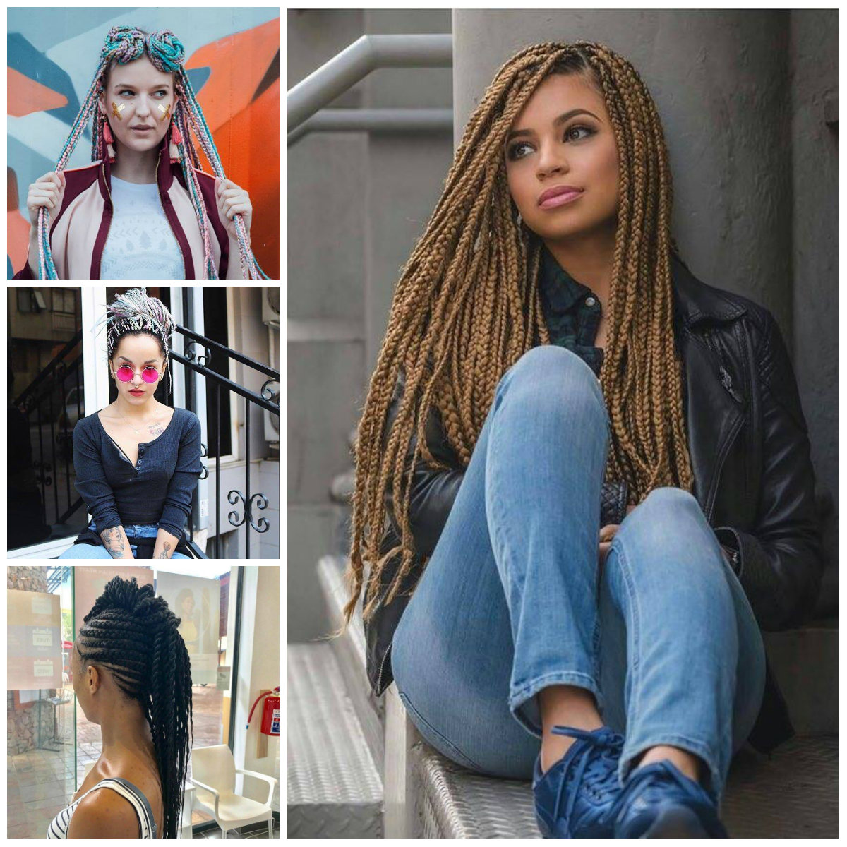 Box Braids Hairstyles for Everyone
