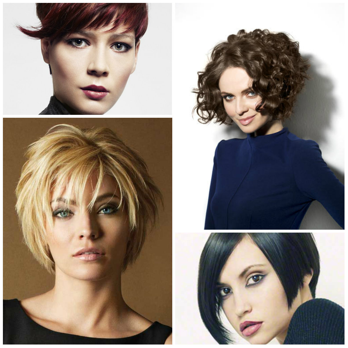 short layered haircuts 2017