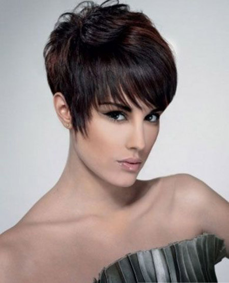 fringed pixie haircut 2017