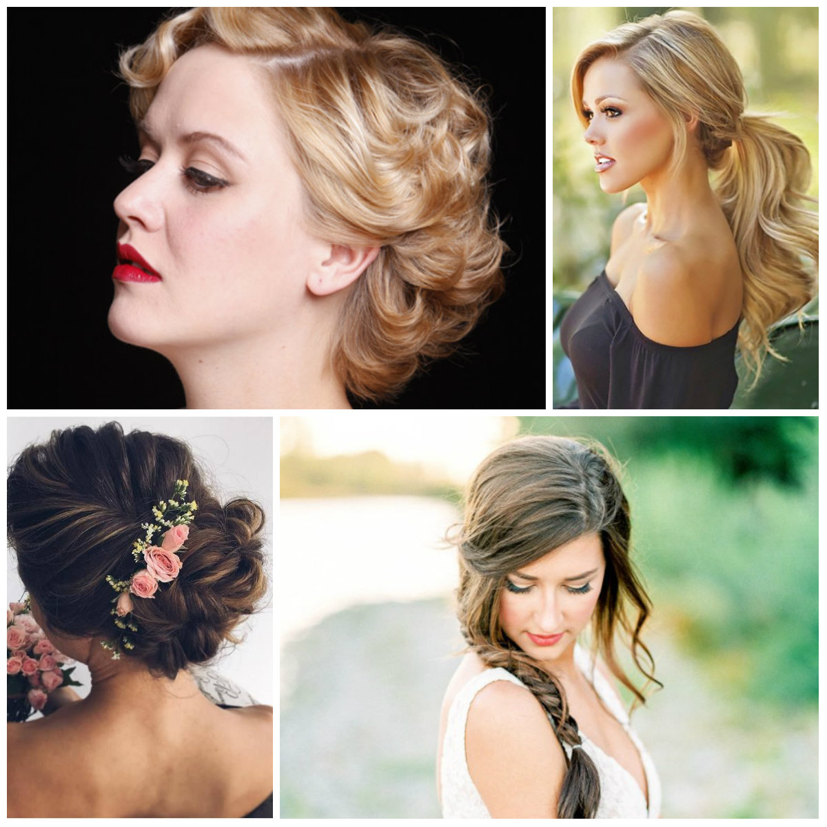 Formal Hairstyle Ideas for Summer 2017 Parties
