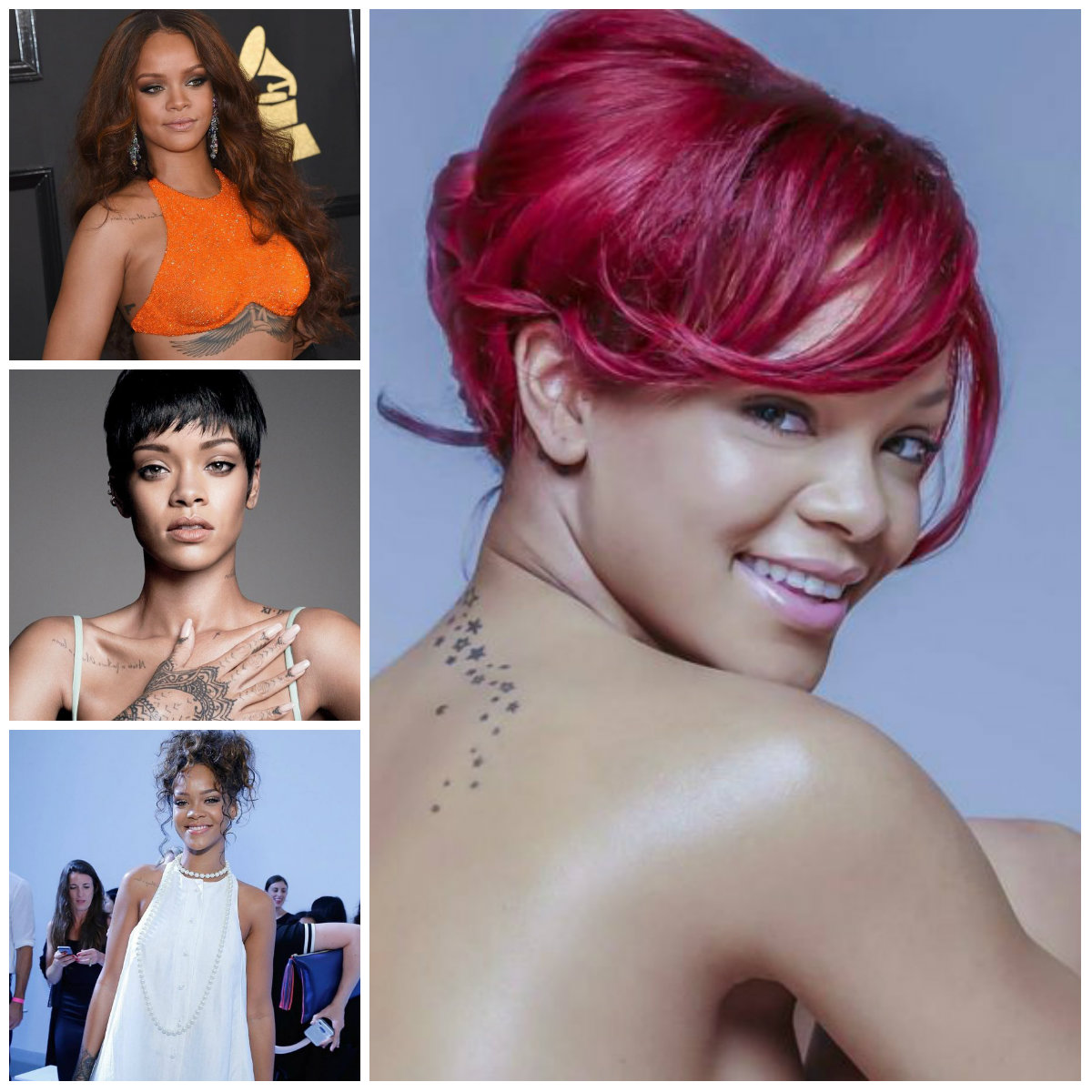 Rihanna Hairstyle ideas for 2017