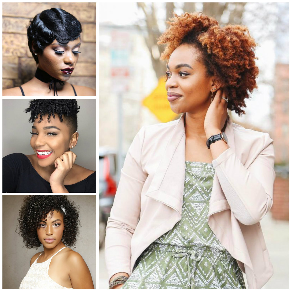 short hairstyle ideas for black women