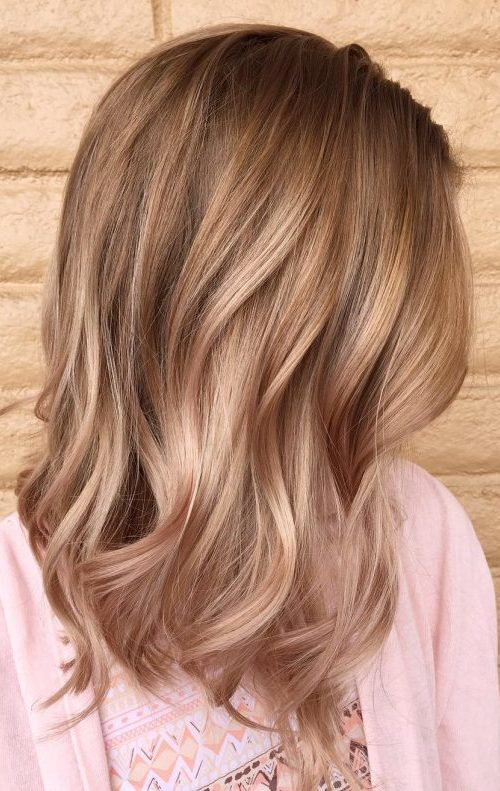 Chic Golden Ombre
