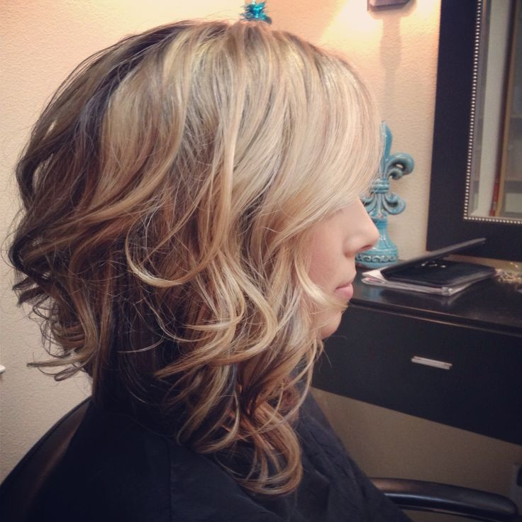 Long Asymmetrical Stacked Bob