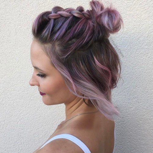 New Ways For Styling Half Up Half Down Hairstyles 2019 Haircuts