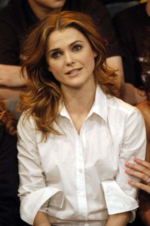 Keri Russell's Bouncy Waves