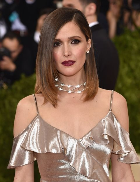 Rose Byrne's Ombre Lob Haircut