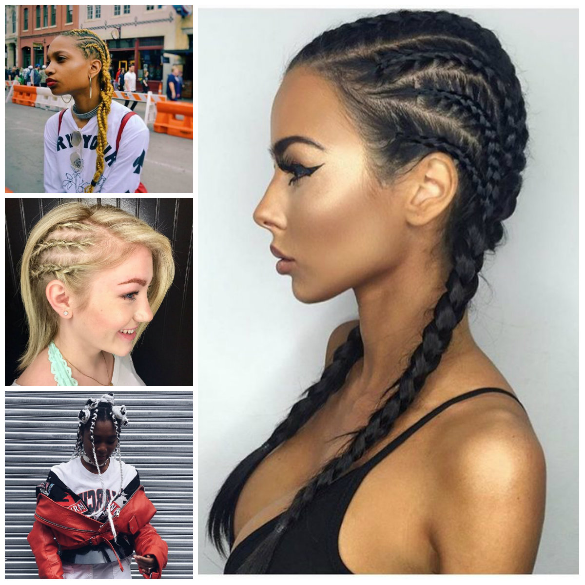 Cute Cornrow Hairstyle