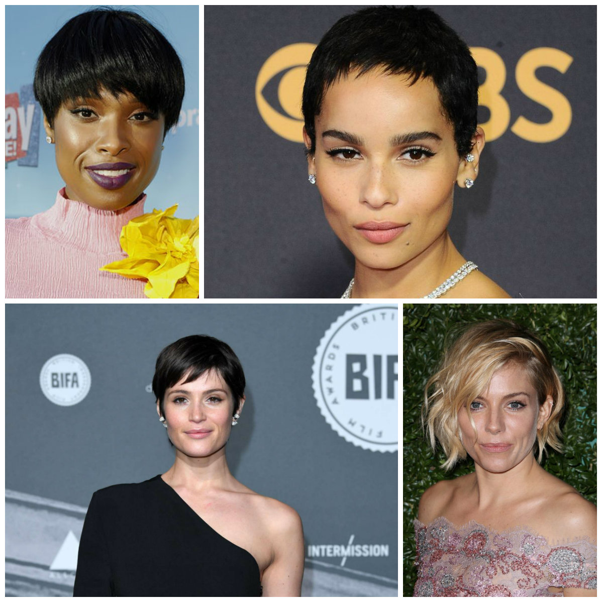 hairstyles for short hair in 2018