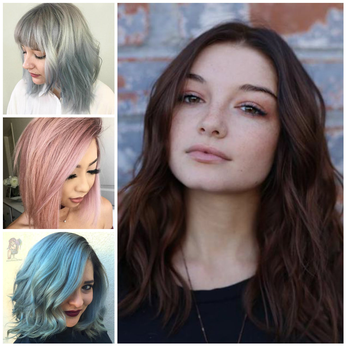 Striking Medium-Length Hairstyles for Round Faces | 2019 Haircuts ...