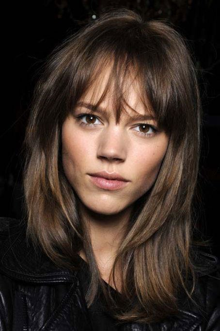 Low-Maintenance Bangs