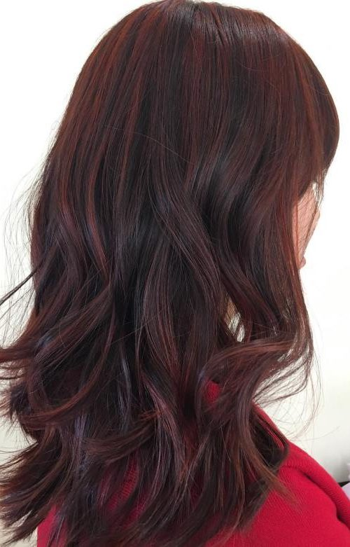 Top Burgundy Hair Colors For 2018 2019 Haircuts