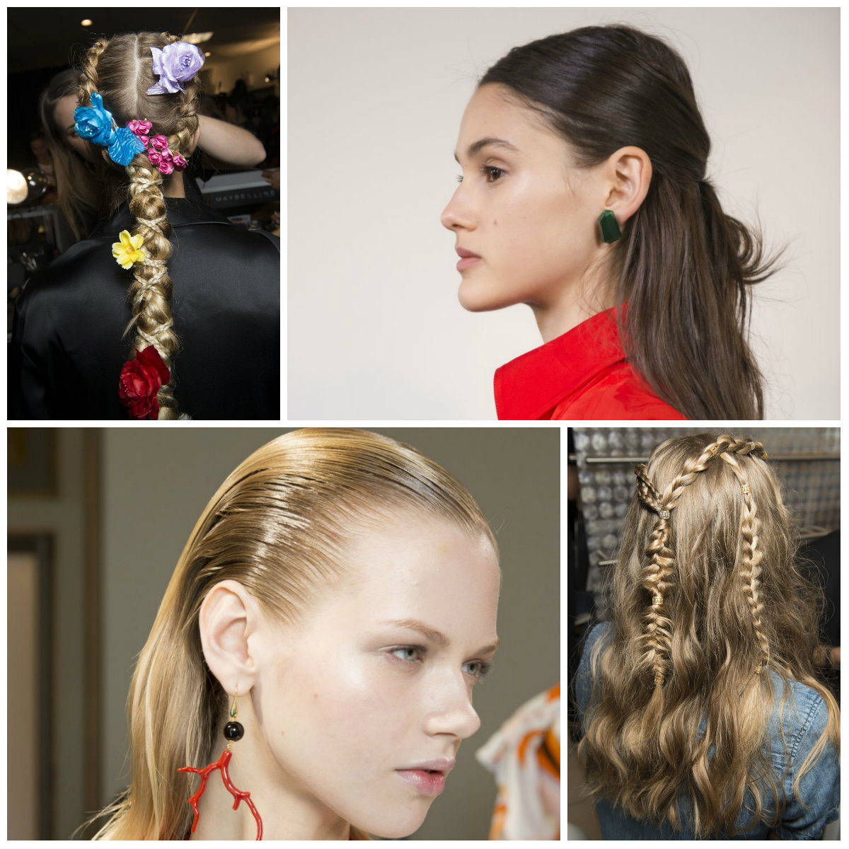 The Coolest Hairstyle Trends from Catwalks | 2019 Haircuts ...