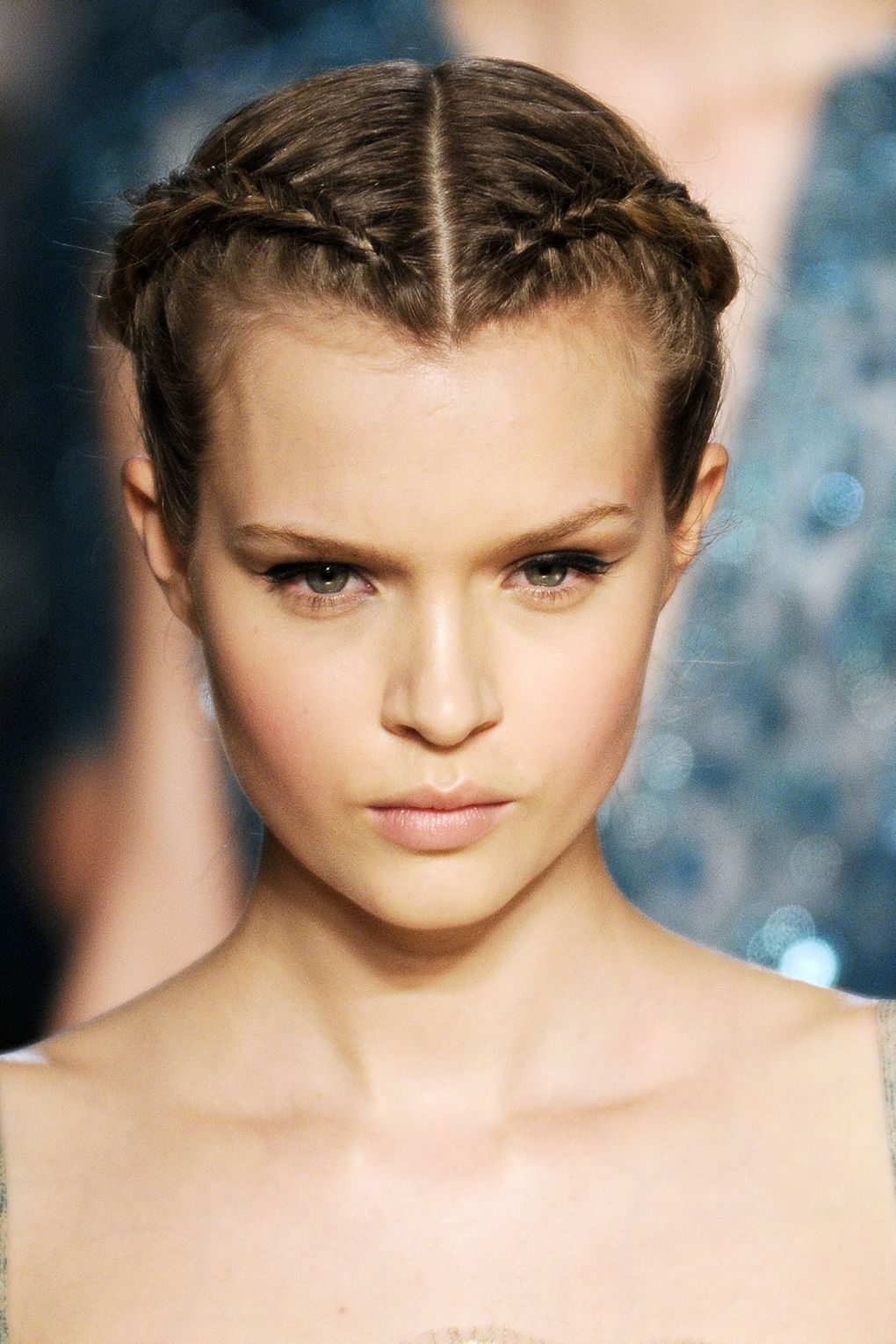 braided updo - 2021 Haircuts, Hairstyles and Hair Colors