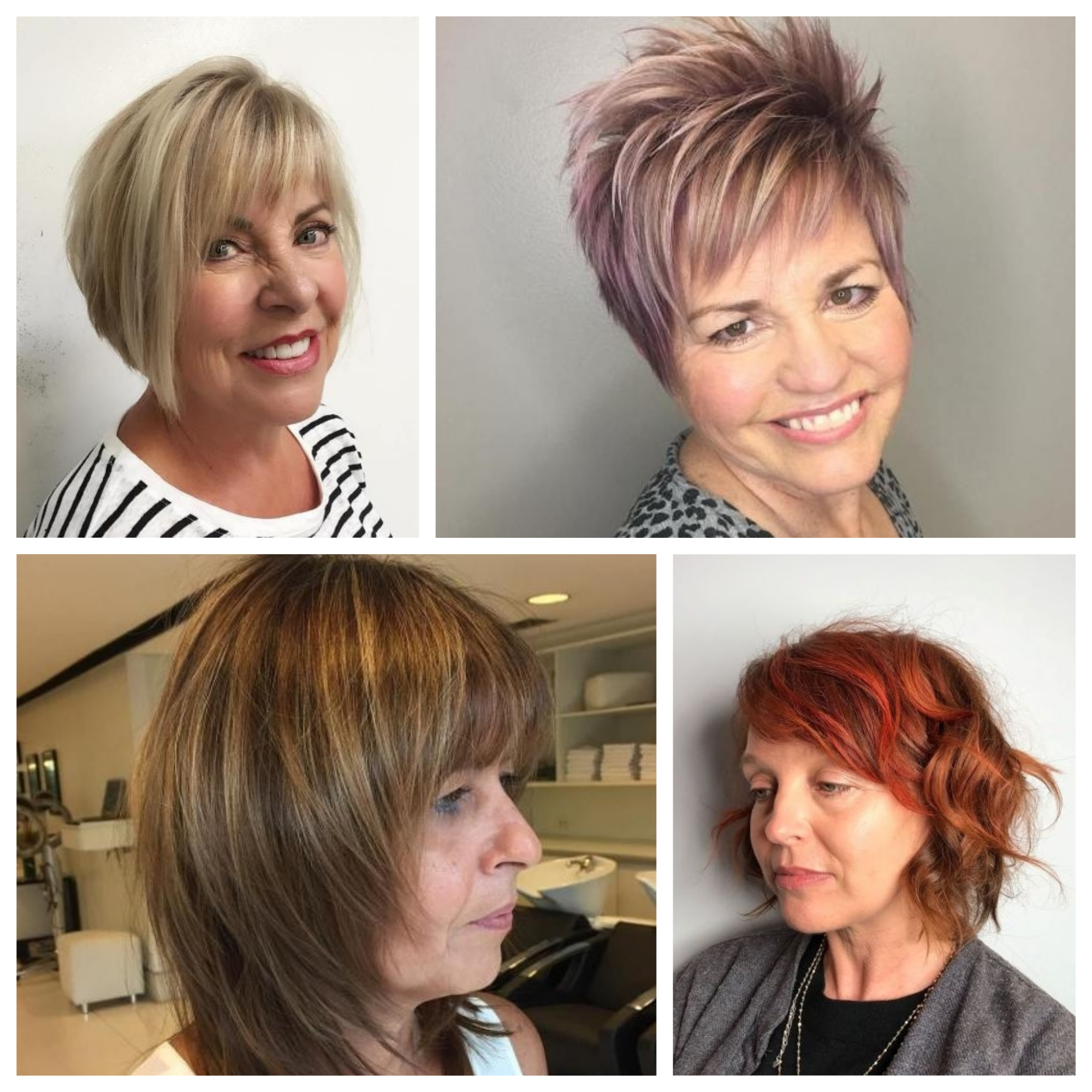 Hair colour for mature women