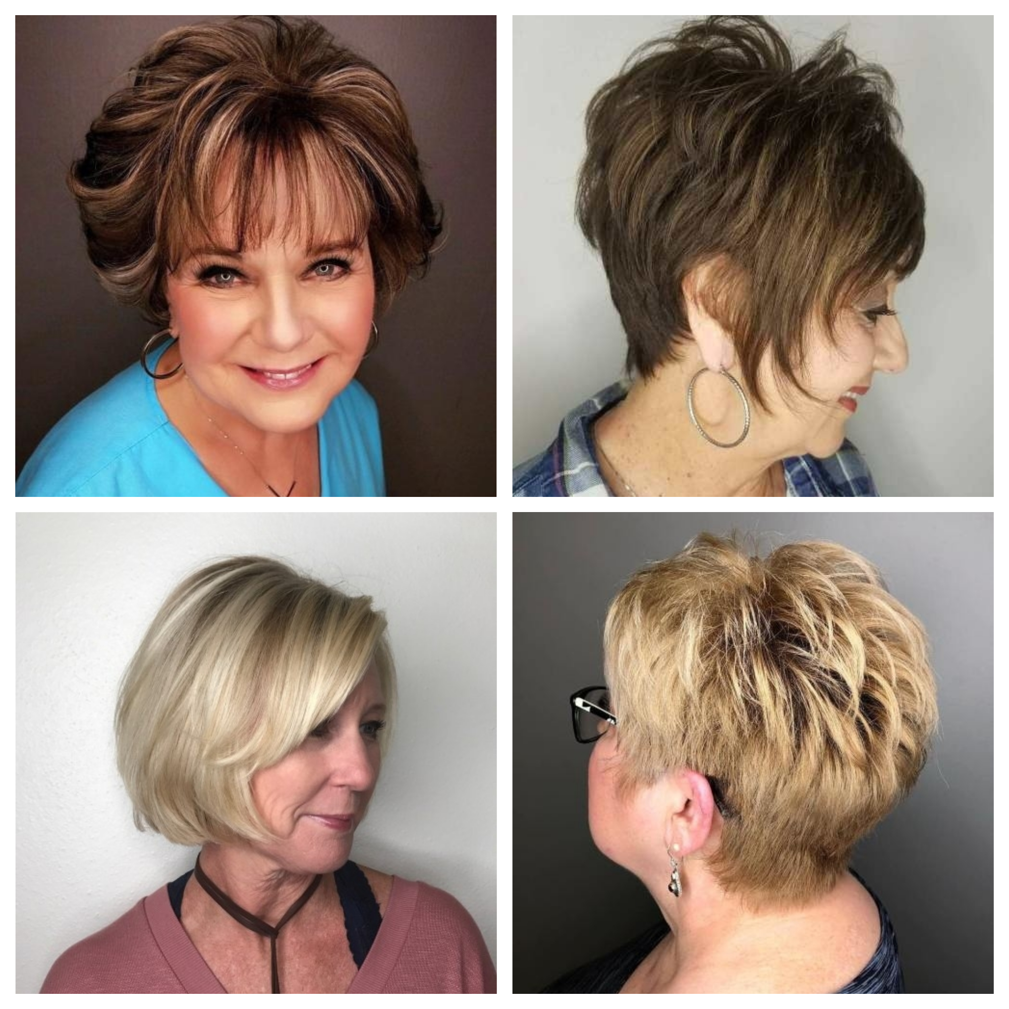 Short Hairstyles For Women Over 60 2019 Haircuts